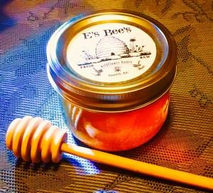 E's Bee's Local raw wildflower honey